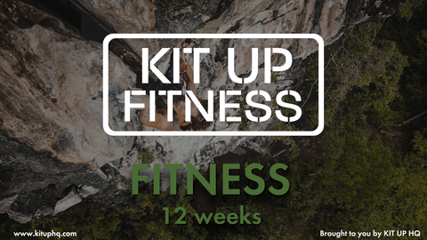 Fitness 12 Week Fitness Plan