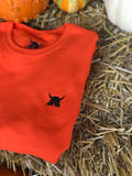 Limited release pumpkin orange crew necks