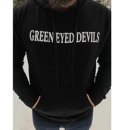 Black Hoody (Green Eyed Devils)