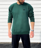 Limited release forest green crewnecks
