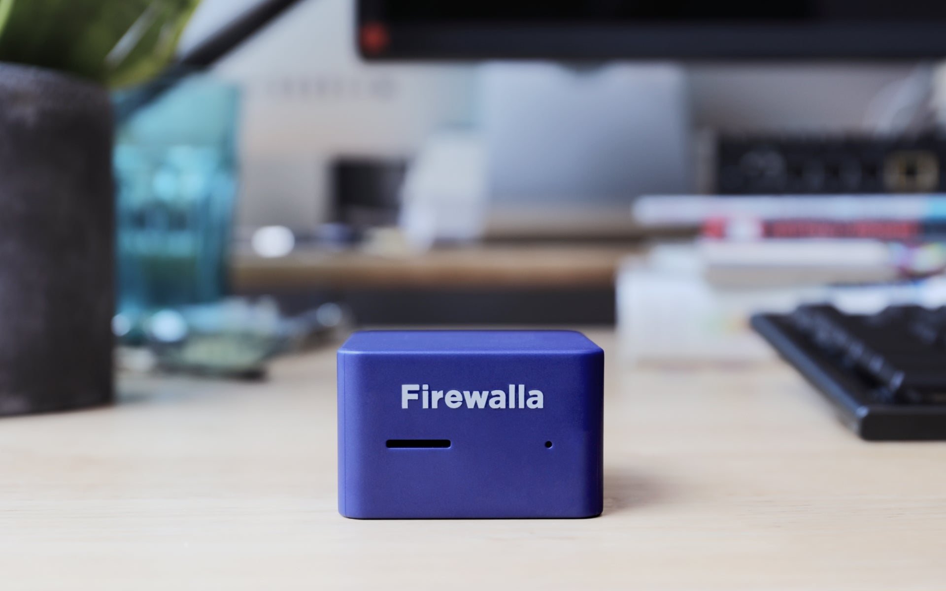 Firewalla Blue Plus: Smart & Powerful Cyber Security Firewall Appliance Protecting Your Family and Business (Ships Worldwide)