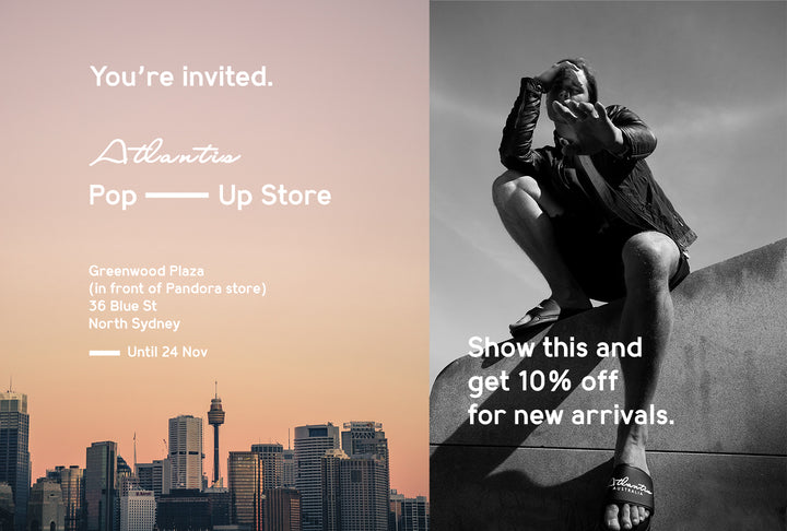 You're Invited to Atlantis Spring Pop Up Store