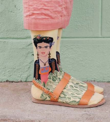 Socks and Sandals Frida