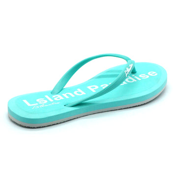 Simply Colorful Island Paradise Flip Flops - Atlantis Shoes