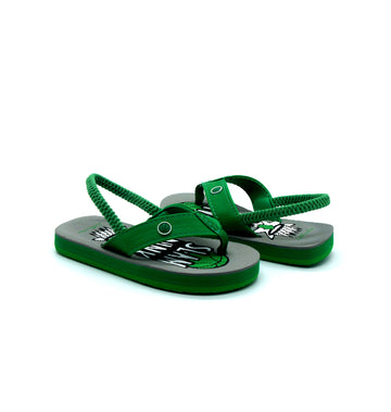 Slam Dunk Green Flip Flops - Atlantis Shoes