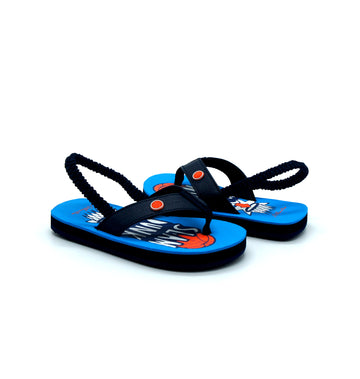 Slam Dunk Navy Flip Flops - Atlantis Shoes