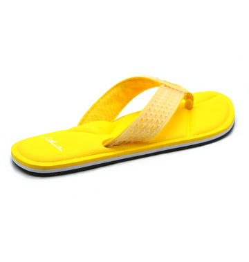 Simply Colorful Yellow Flip Flops - Atlantis Shoes