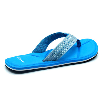 Simply Colorful Blue Flip Flops - Atlantis Shoes