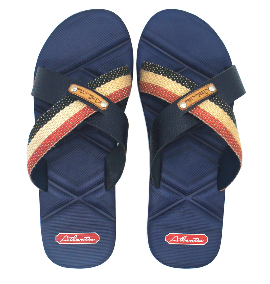 X Series Navy Sandals - Atlantis Shoes