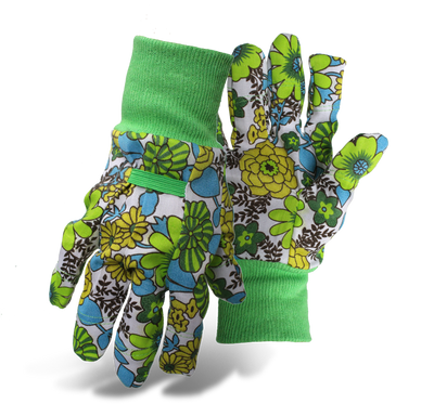 green gardening gloves by seed needs