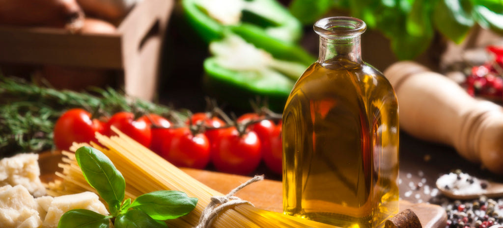 Italian cooking ingredients and herbs