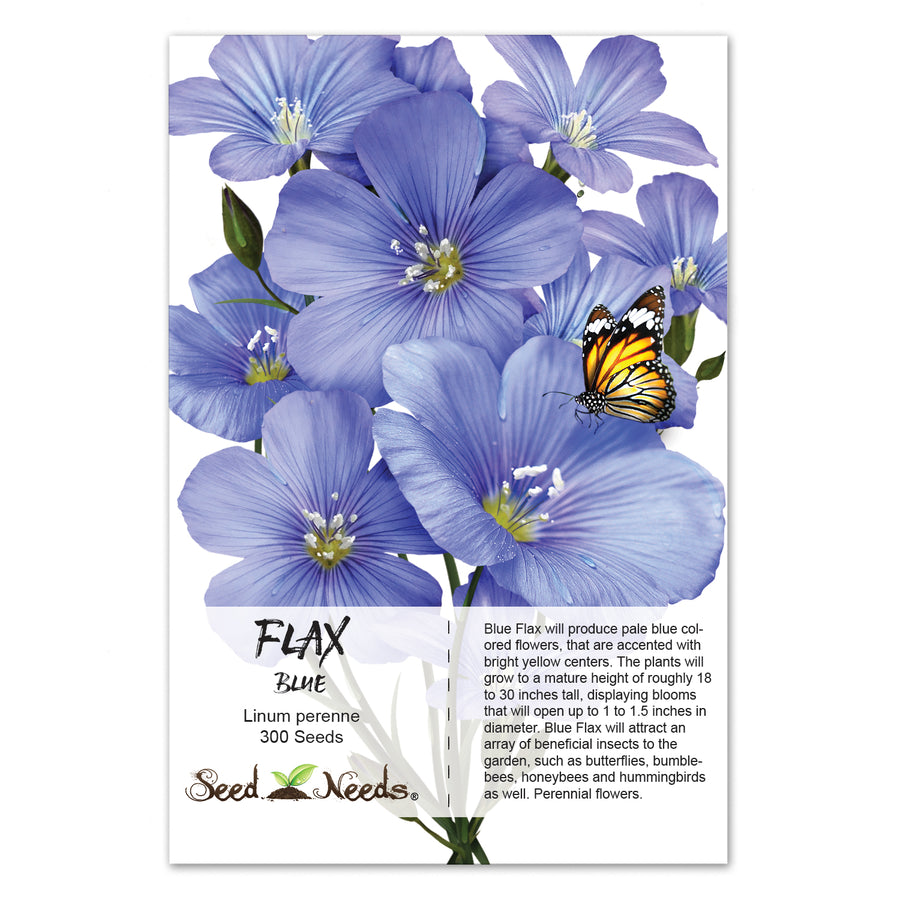 Blue Flax Seeds (Linum perenne)