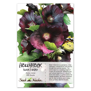 Black Hollyhock Seeds