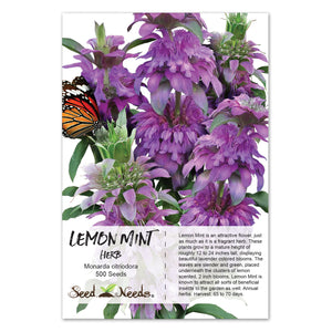 Lemon Mint Seeds (Monarda citriodora)