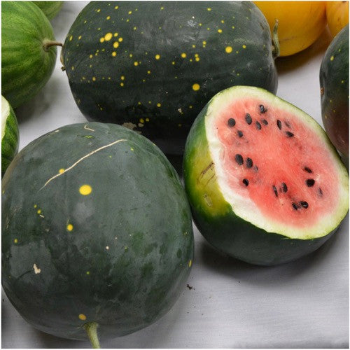 Moon and stars watermelon