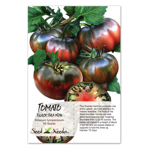 Black Sea Man Tomato Seeds (Solanum lycopersicum)