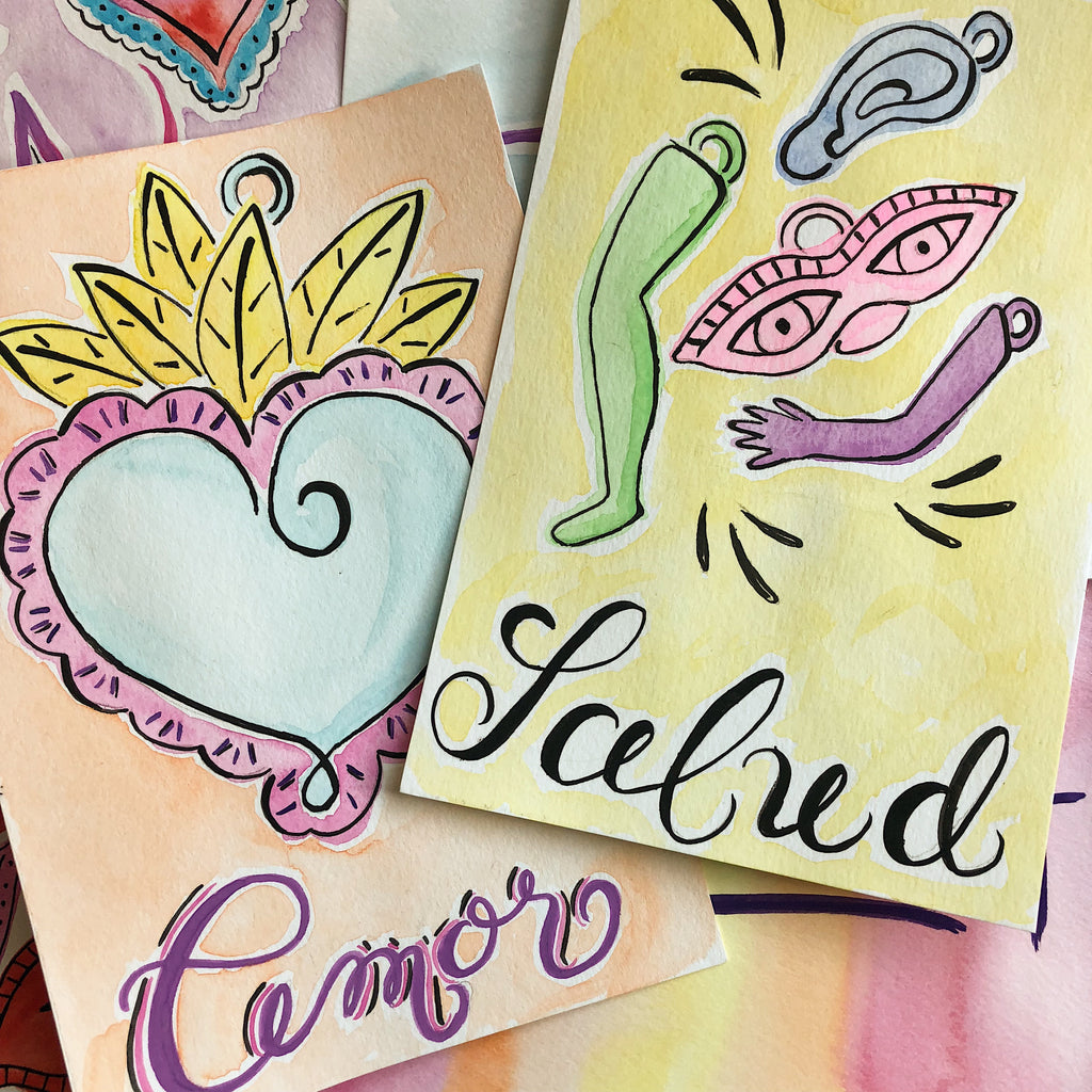Milagros Y Promesas Lettering Workshop