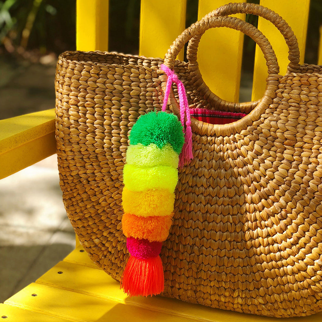 DIY with The Neon Tea Party: Mexican Pom Pom Charm How-To
