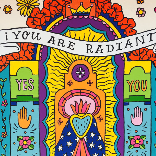 Mural // You Are Radiant!