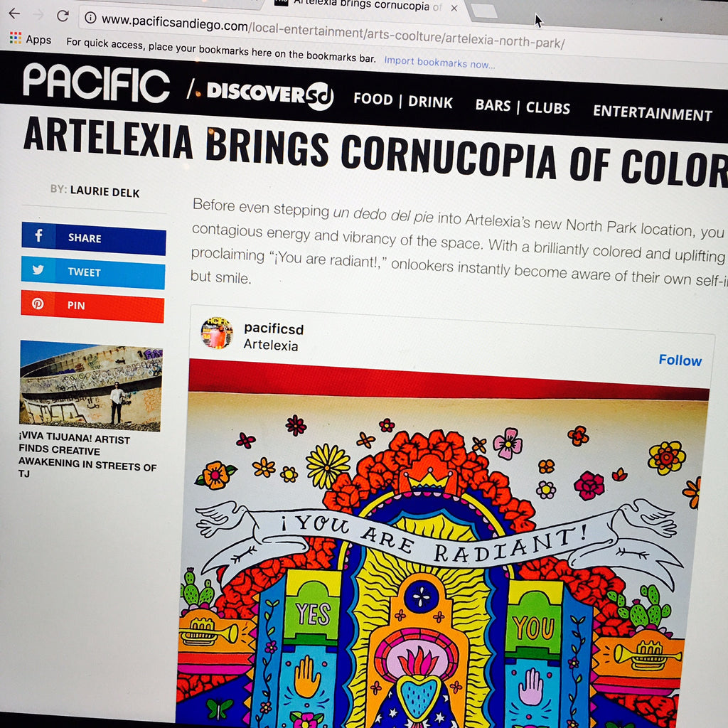 Artelexia Brings Cornucopia of Color to North Park