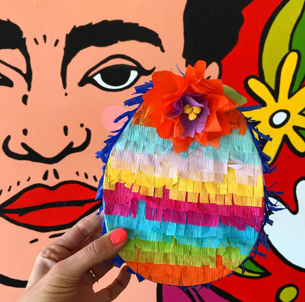 Bunny & Easter Egg Piñata Craft How-to