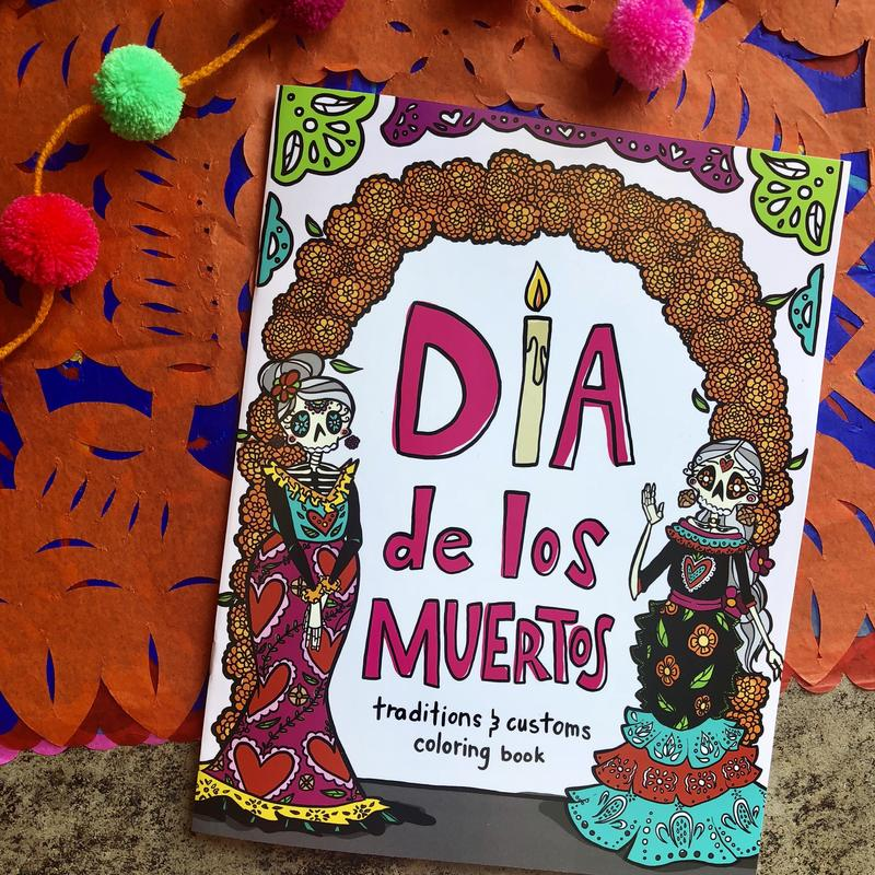 Time to get ready for Día de Muertos!