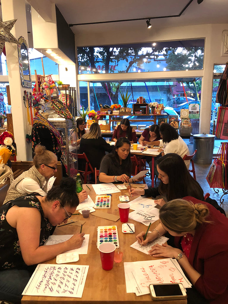 Gracias Madrecita Workshop & Wine Wednesday with Lizelly Meza // Creative Blog of Artelexia