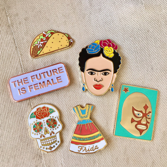 Artelexia — Mexican Gifts, Homewares & More! — Enamel Pins