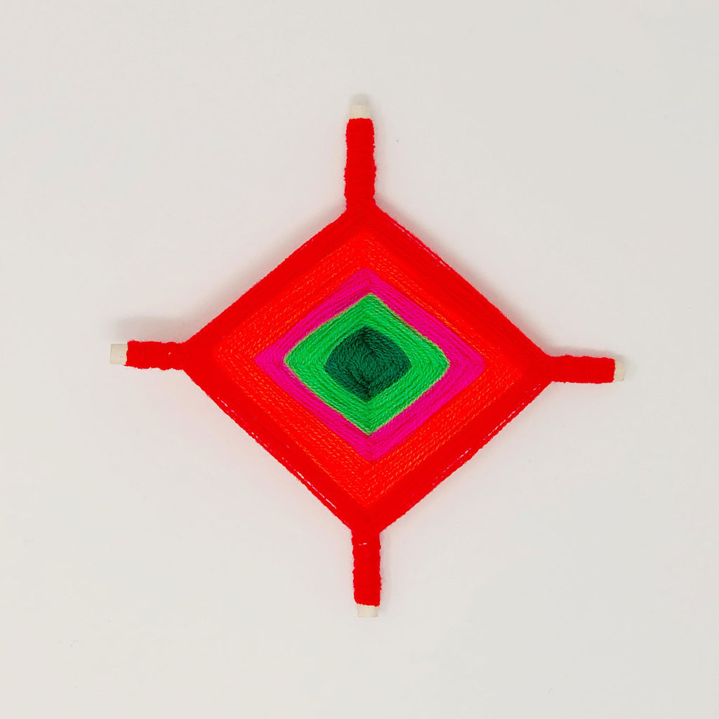 DIY Collaboration with Marisa Morrison of The Neon Tea Party for Artelexia — Ojo de Dios Ornament & Tree Topper How-to