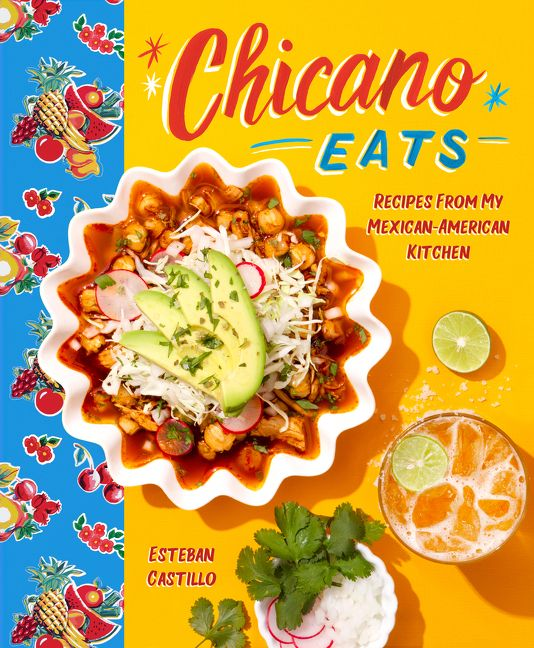 Esteban Castillo of Chicano Eats New Cookbook — Purchase here.