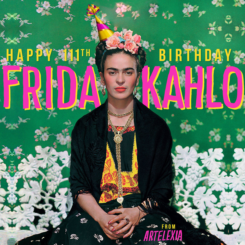 Frida Kahlo Birthday Celebrations from Artelexia