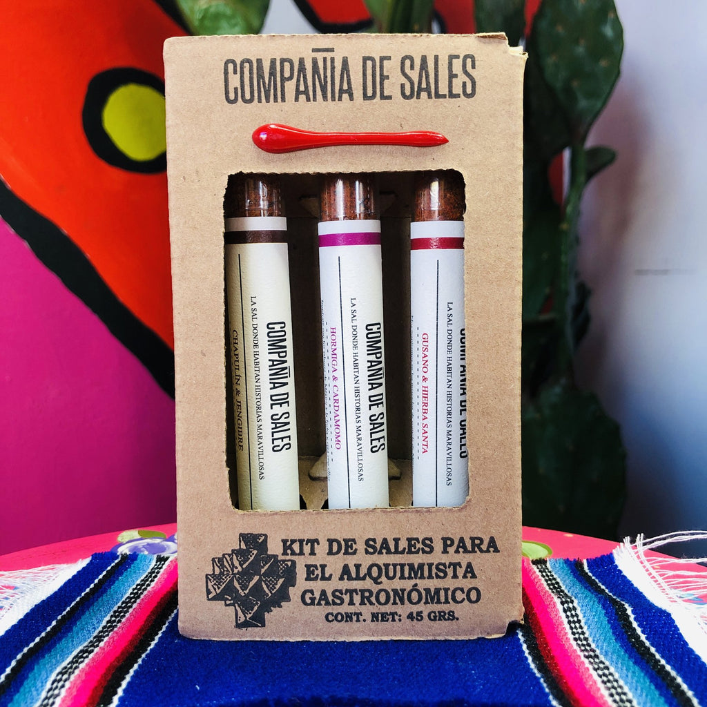 Mezcalera Gourmet Salt Collection