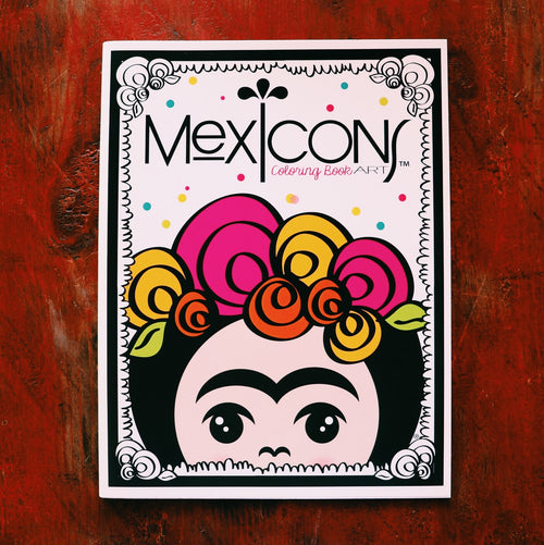 Mexicons Art Coloring Book