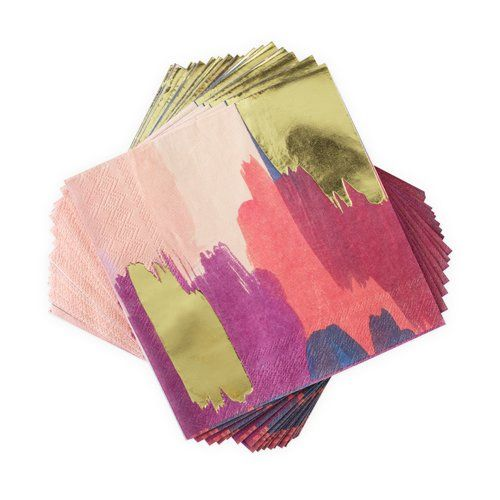 Watercolor Paper Napkins