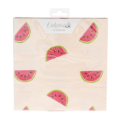 Watermelon Paper Napkins