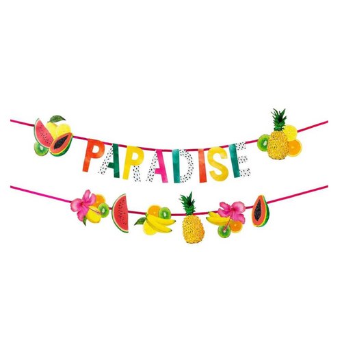 Tropical Fiesta Fruit Garland