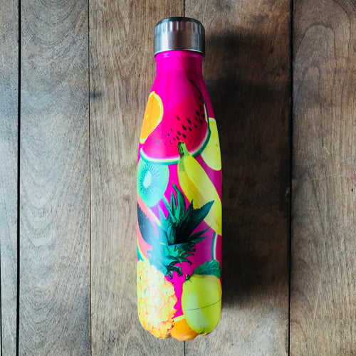 Reusable Drink Bottle - Pink Fruit