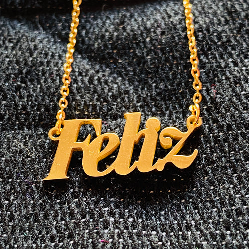 Feliz Necklace