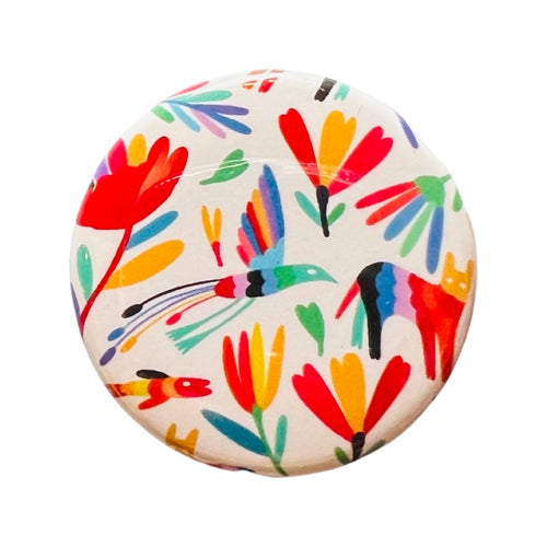 Postcard of a standing Frida Kahlo portrait