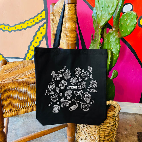 Artelexia Tote Bag - Black