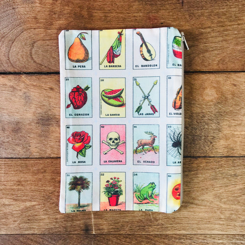 Large Loteria Zip Pouch