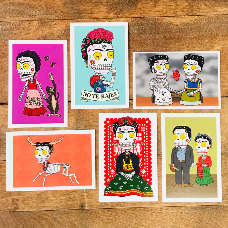 Frida Calavera Postcard Set