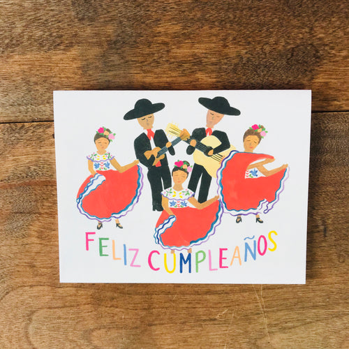 Mariachi & Folklorico Birthday Card
