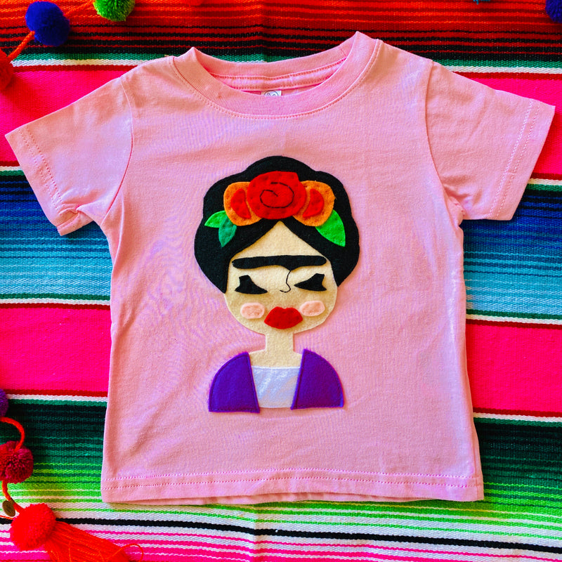 Frida Kid's Shirt - Pink