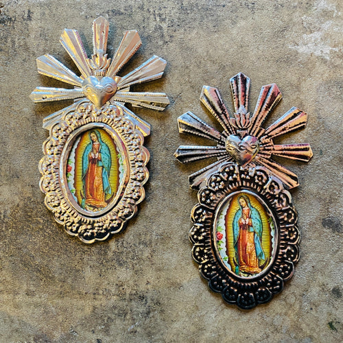 Tin Wall Hanging- Virgin Mary #1