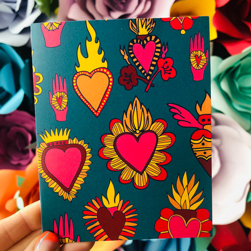 Sacred Hearts Greeting Card