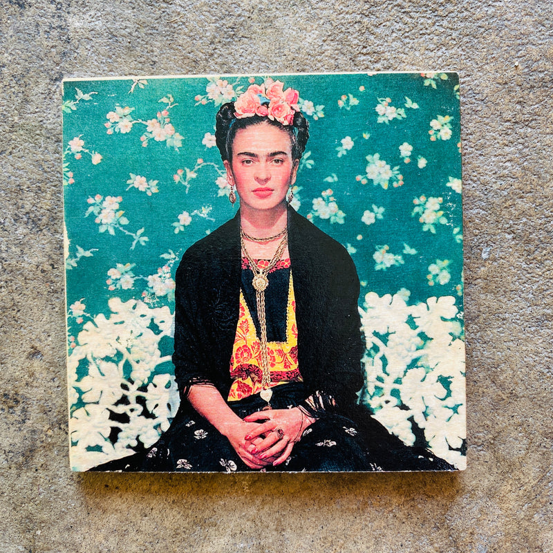 Frida Kahlo Wooden Coasters