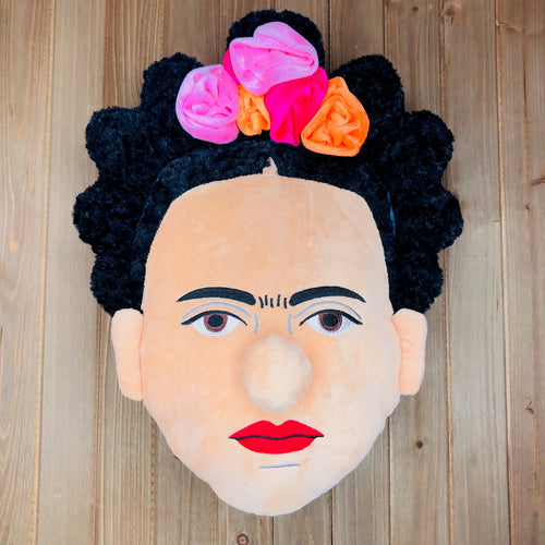 Plush Frida Pillow