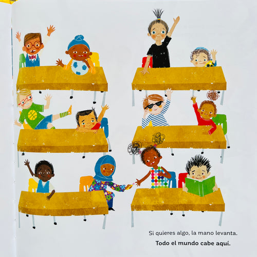 Sacred Heart Ojos Patch in red, blue and yellow detailing