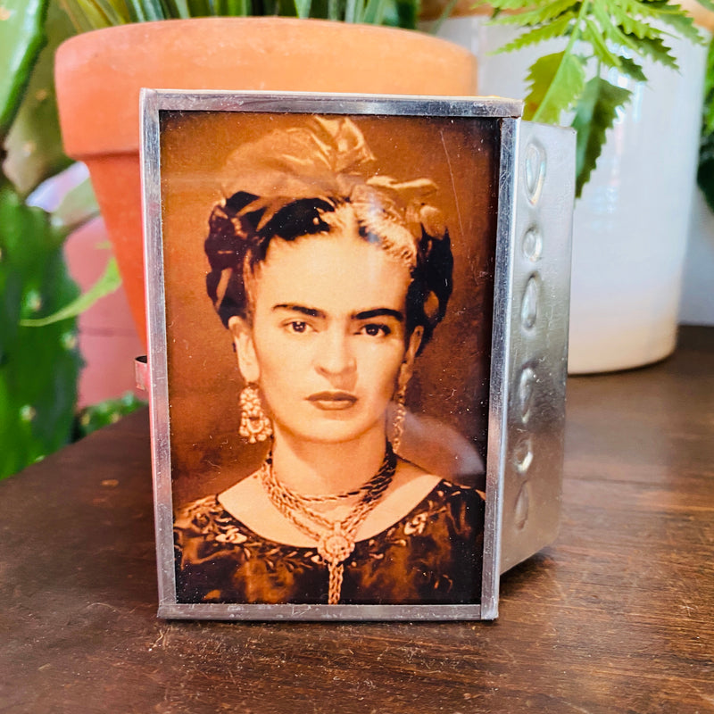 Tin Box - Frida Portrait #6